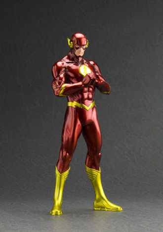 Wygraj statuetkę Kotobukiya The Flash New 52 DC Comics ArtFX