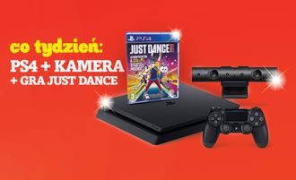 "Wygraj Sony PlayStation 4 z kamerą i grą ""JUST Dance"""