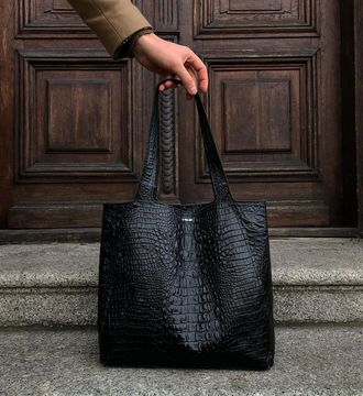 Wygraj Alligator shopper bag