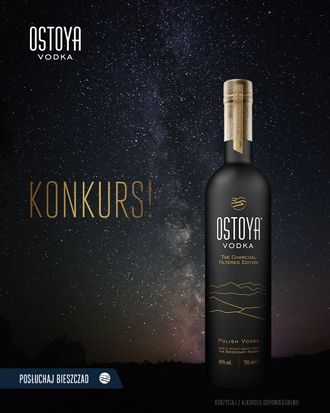 Wygraj butelkę Ostoya The Charcoal Filtered Edition