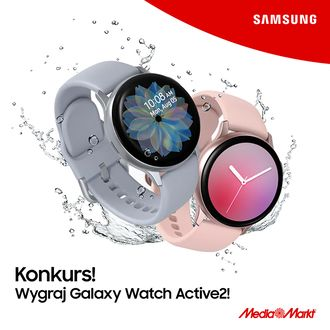 Wygraj smartWatch SAMSUNG Galaxy Watch Active2