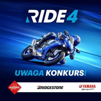 "Wygraj grę ""RIDE 4"" na PC, Play Station lub Xbox"