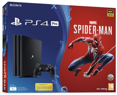 sony-playstation-4-pro-1tb-+-marvel's-spider-man class=